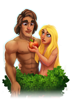 Adam and Eve - The First Humans Created by God