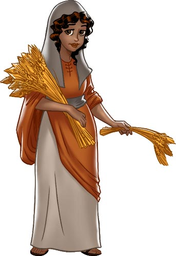 Ruth the Kind Moabite Woman
