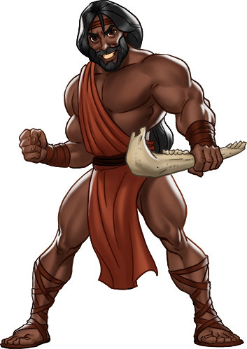 The Mighty Samson Judge of the Israelites