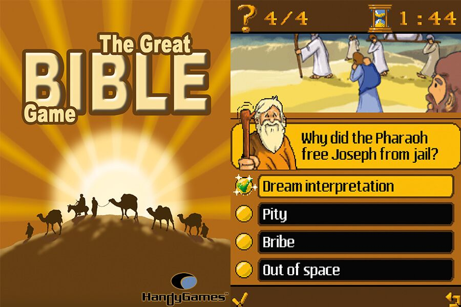 play the bible